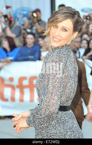 Toronto, Ontario, Canada. 4th Sep, 2014. Actress VERA FARMIGA attends 'The Judge' premiere during the 2014 Toronto - Stock Photo