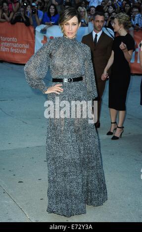 Toronto, CA. 4th Sep, 2014. Vera Farmiga at arrivals for THE JUDGE Premiere at the Toronto International Film Festival - Stock Photo