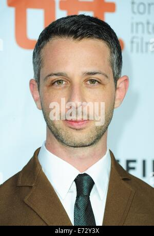 Toronto, CA. 4th Sep, 2014. Jeremy Strong at arrivals for THE JUDGE Premiere at the Toronto International Film Festival - Stock Photo