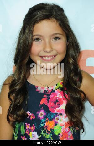 Toronto, CA. 4th Sep, 2014. Emma Tremblay at arrivals for THE JUDGE Premiere at the Toronto International Film Festival - Stock Photo