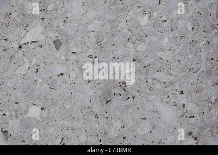 exposed aggregate concrete background texture - Stock Photo