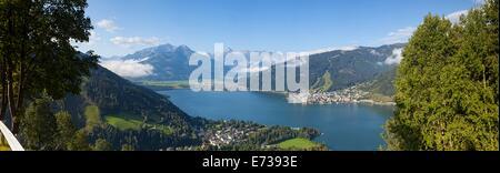 Lake Zell am See, Pinzgau, Salzkammergut, Austria, Europe - Stock Photo