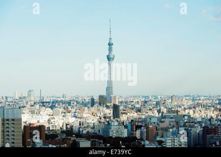 Tokyo Skytree, Asakusa, Tokyo, Honshu, Japan, Asia - Stock Photo