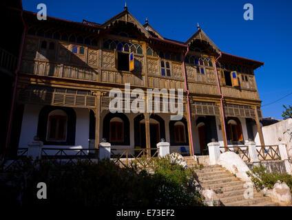 Arthur Rimbaud House, Harar, Ethiopia - Stock Photo