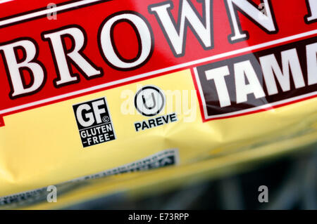 Kosher Sign On Food Package Stock Photo 49813854 Alamy