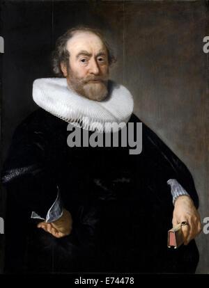 Portrait of Andries Bicker - by Bartholomeus van der Helst, 1642 - Stock Photo