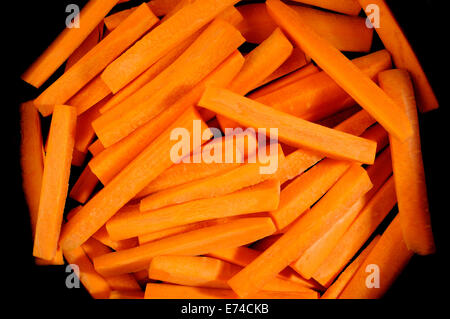 Fresh carrots sticks - Stock Photo