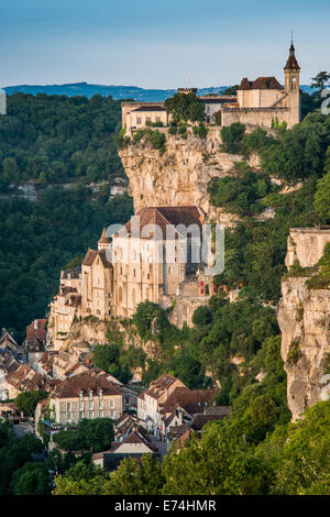 Rocamadour, Midi-Pyrenees Region, Lot Department, France, Europe - Stock Photo