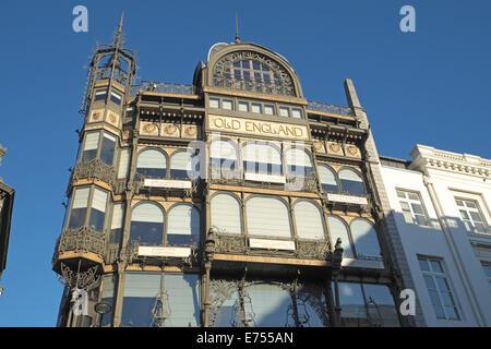 Old England Building, Musée des Instruments de Musique (MIM), Rue Montagne, Brussels, Belgium. - Stock Photo