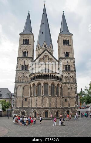 The Bonn Minster , Germany, Europe - Stock Photo