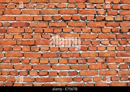 Brick wall background horizontal, stone wall texture - Stock Photo
