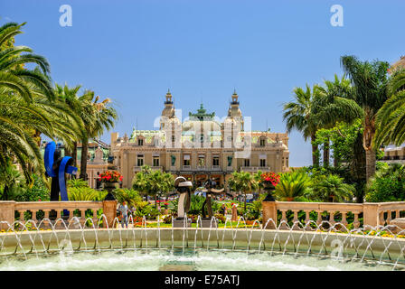 Grand Casino in Monte Carlo. Monaco - Stock Photo