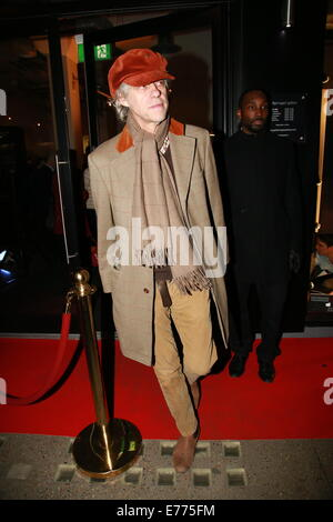 PRS for Music: 100 Years of Music VIP launch at Getty Images Gallery  Featuring: Bob Geldof Where: London, United - Stock Photo