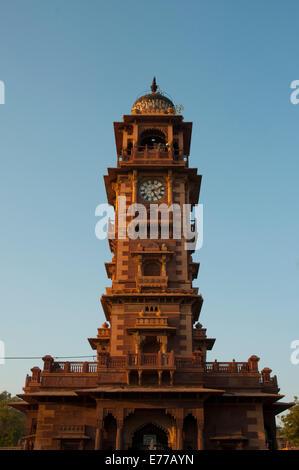Ghanta Ghar clock tower, Jodhpur, Rajasthan, India. - Stock Photo