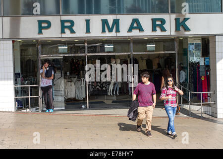Primark discount clothing store in Sheffield England UK - Stock Photo