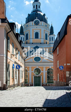 Katarina Kyrka church, district Sodermalm, Stockholm. - Stock Photo
