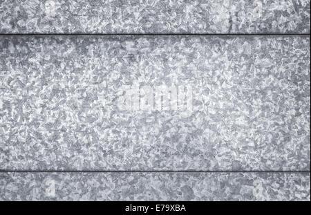 Gray galvanized steel sheet, background photo texture - Stock Photo