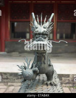 Forbidden City, Tiananmen Square, Beijing. - Stock Photo