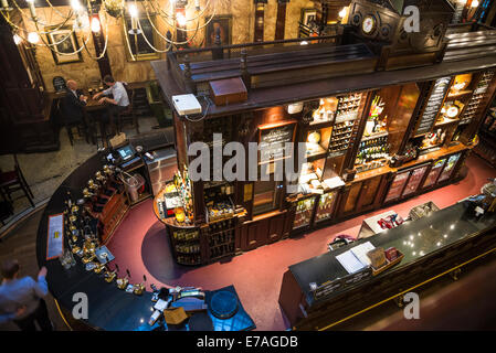 Traditional pub The Counting House in Cornhill, Square Mile, City of London, UK - Stock Photo