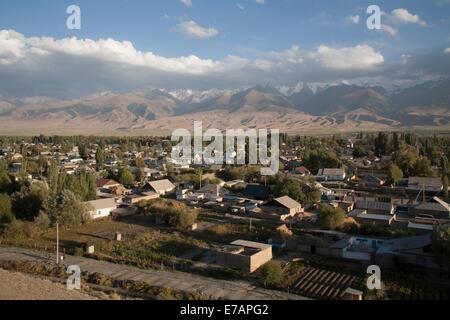 At-Bashy, or At-Bashi,Kyrgyzstan. - Stock Photo