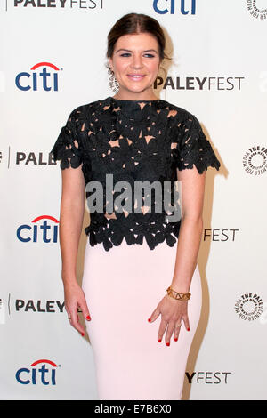 Beverly Hills, California, USA. 10th September, 2014. Casey Wilson attends The Paley Center for Media's PaleyFest - Stock Photo
