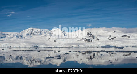Morning in Antartica - Stock Photo
