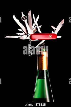 fold out pocket knife stock photo royalty free image 20498859 alamy. Black Bedroom Furniture Sets. Home Design Ideas