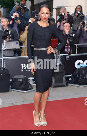 Jade Johnson arrives at the GQ Men of the Year Awards on 02/09/2014 at Royal Opera House, London. Persons pictured: - Stock Photo