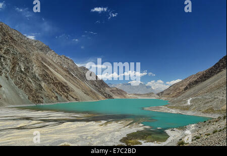 Satpara Lake, Gilgit Baltistan, Pakistan - Stock Photo