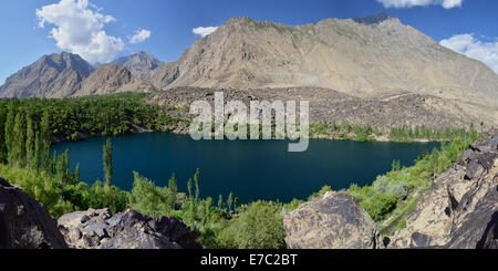 Upper Kachura Lake, Gilgit Baltistan, Pakistan - Stock Photo