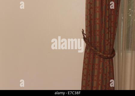curtains - Stock Photo