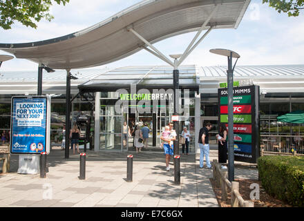 M25 motorway services at Welcome Break Service Station, South Mimms, Potters Bar, Hertfordshire, England