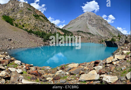 Naltar Lake, Gilgit Baltistan, Pakistan - Stock Photo