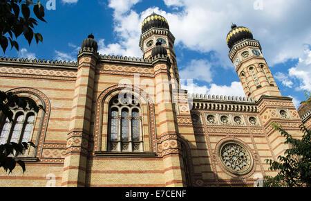 Dohany Street Synagogue, Budapest, Hungary - Stock Photo
