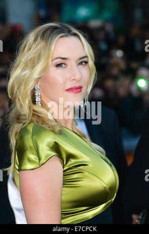 Toronto, Ontario, Canada. 13th Sep, 2014. Actress KATE WINSLET attends the 'A Little Chaos' premiere during the - Stock Photo
