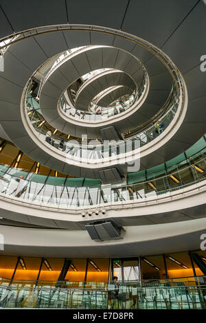 London City Hall Interior During Open House Weekend, Southwark, London