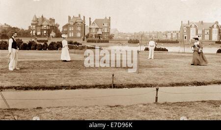 Southsea England early 1900s - Stock Photo