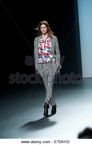 Madrid, Spain. 14th Sept, 2014. Spanish model Bimba Bose ...