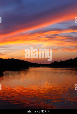 Sunset at Dugi otok, Croatia - Stock Photo