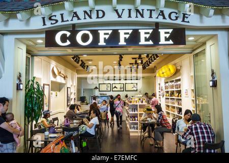 Hawaii Oahu Hawaiian Honolulu Ala Moana Center Centre Mall