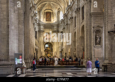 Altar And Interior Of St Peters Abbey Stift St Peter Catholic