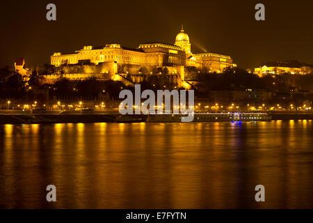 Buda Castle Budapest Hungary - Stock Photo