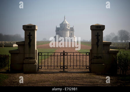 The Necropole National, Notre-Dame De Lorette. Ablain St.-Nazaire French Military Cemetery. - Stock Photo