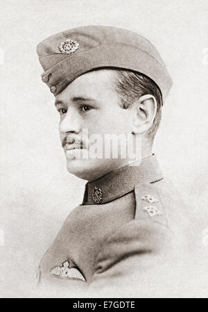 Arthur Lewis Jenkins, 1892–1917.   British soldier and poet of the First World War. - Stock Photo