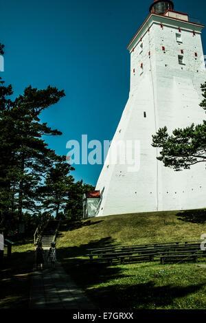 Estonia,Hiiumaa island, Kõpu lighthouse - Stock Photo