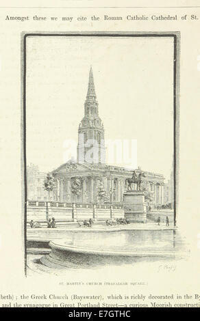 Image taken from page 126 of 'London and its Environs. A picturesque survey of the metropolis and the suburbs ... - Stock Photo