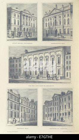 Image taken from page 126 of 'National History and Views of London and its environs ... from original drawings by - Stock Photo