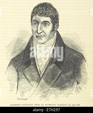 ONL (1887) 1.066 - Alderman Waithman, from an authentic portrait - Stock Photo