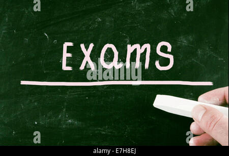 exams concept - Stock Photo