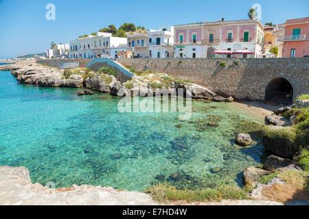 Santa maria al bagno city beach in puglia italy stock photo 73527267 alamy - Puglia santa maria al bagno ...